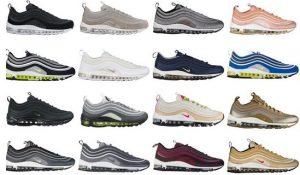 Nike air max 97联名所有配色价格